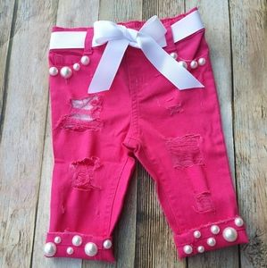 3-6 months pearl pants